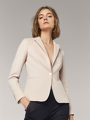 Veste rose pale