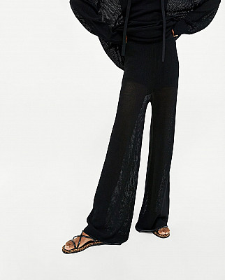 Pantalon maille fine